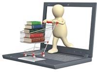 קניות און ליין ספרים / צלם: Lukiyanova Natalia/Shutterstock.com. א.ס.א.פ קראייטיב